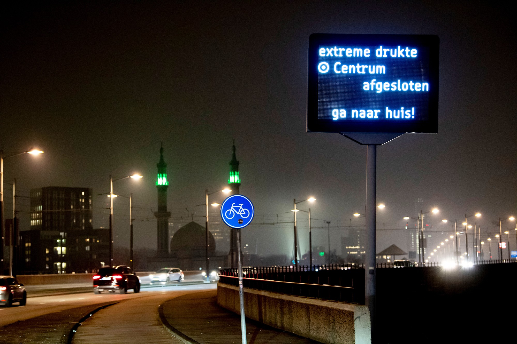 rotterdam verkeer
