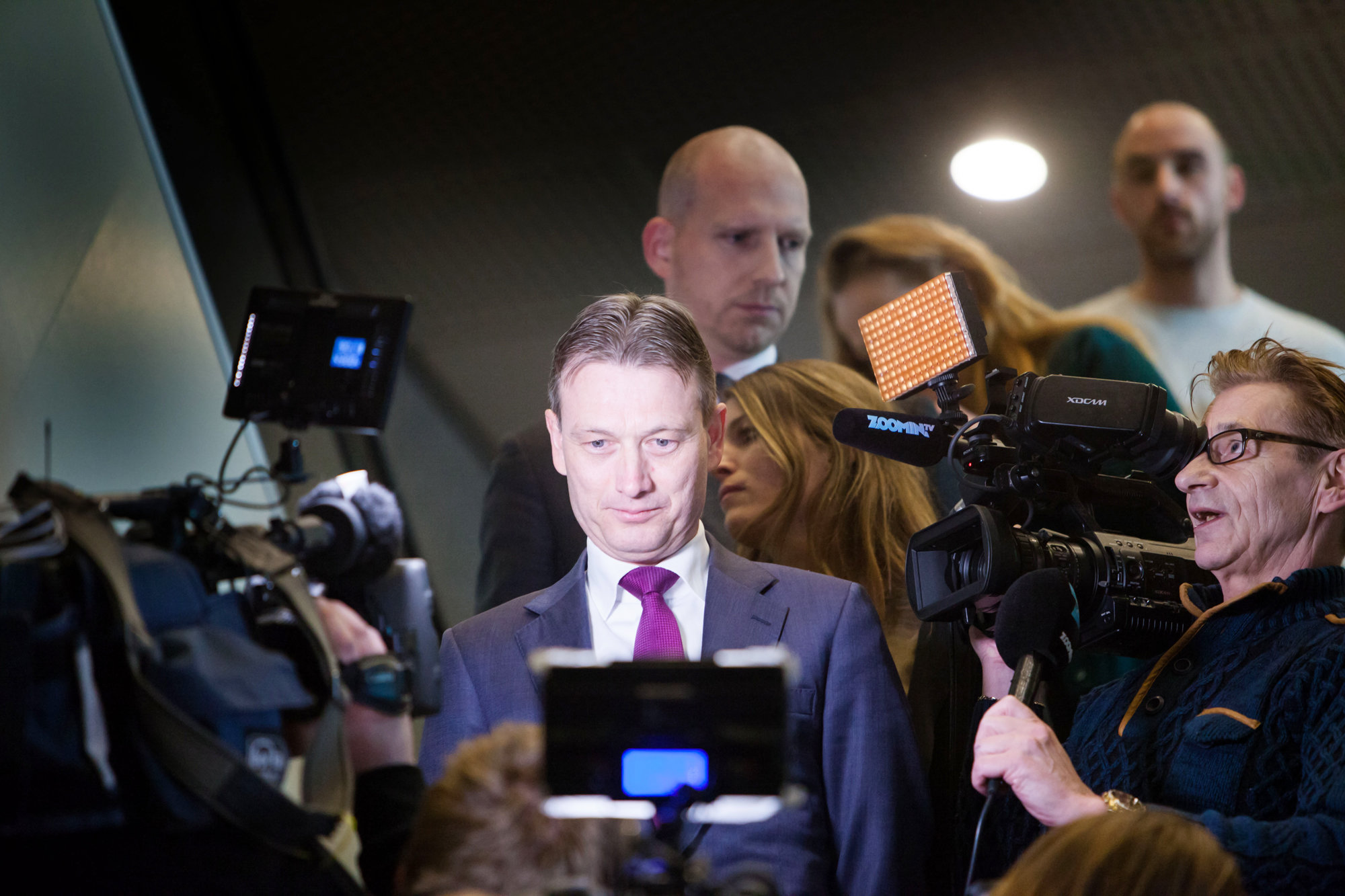 Aftreden minister Halbe Zijlstra