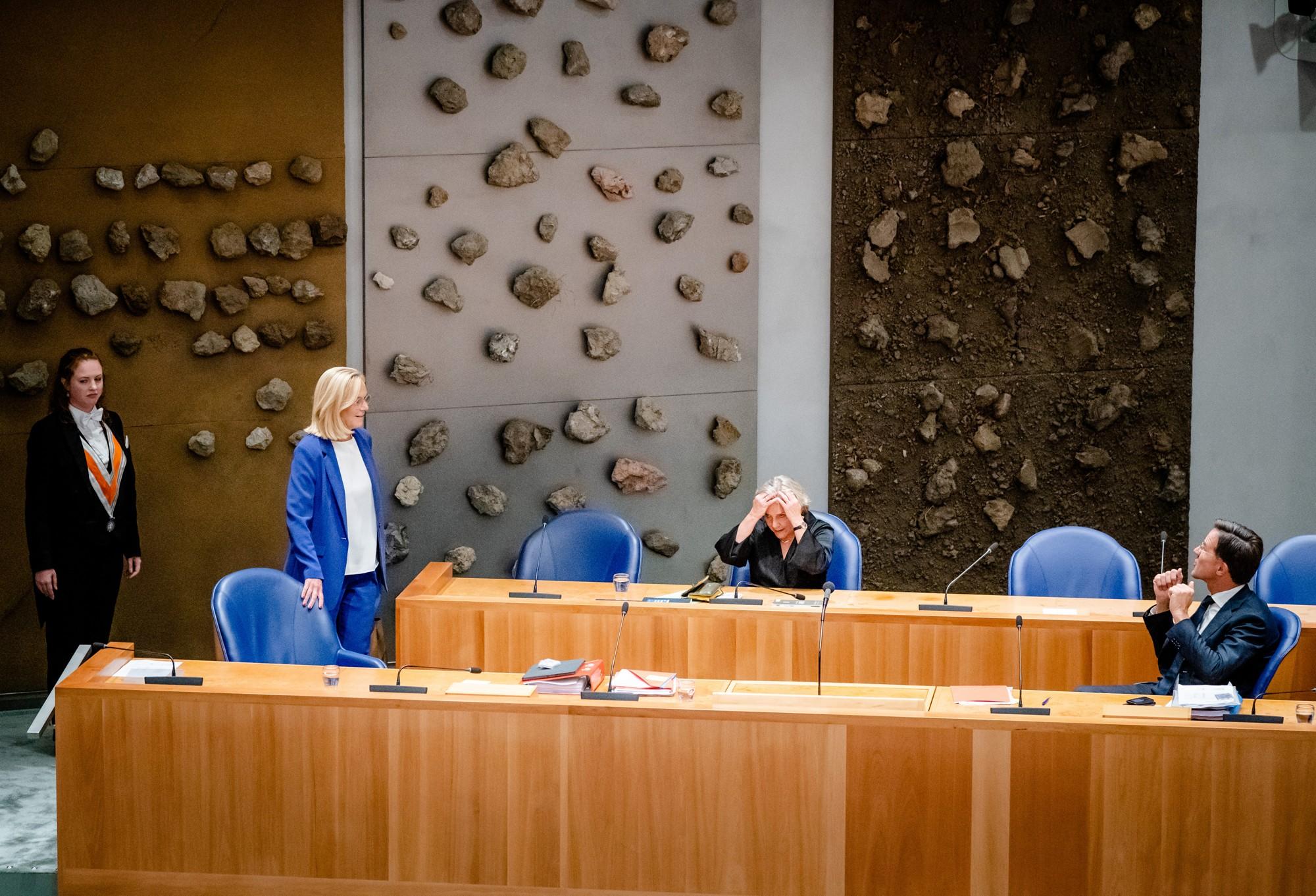 Minister Kaag in 2e kamer