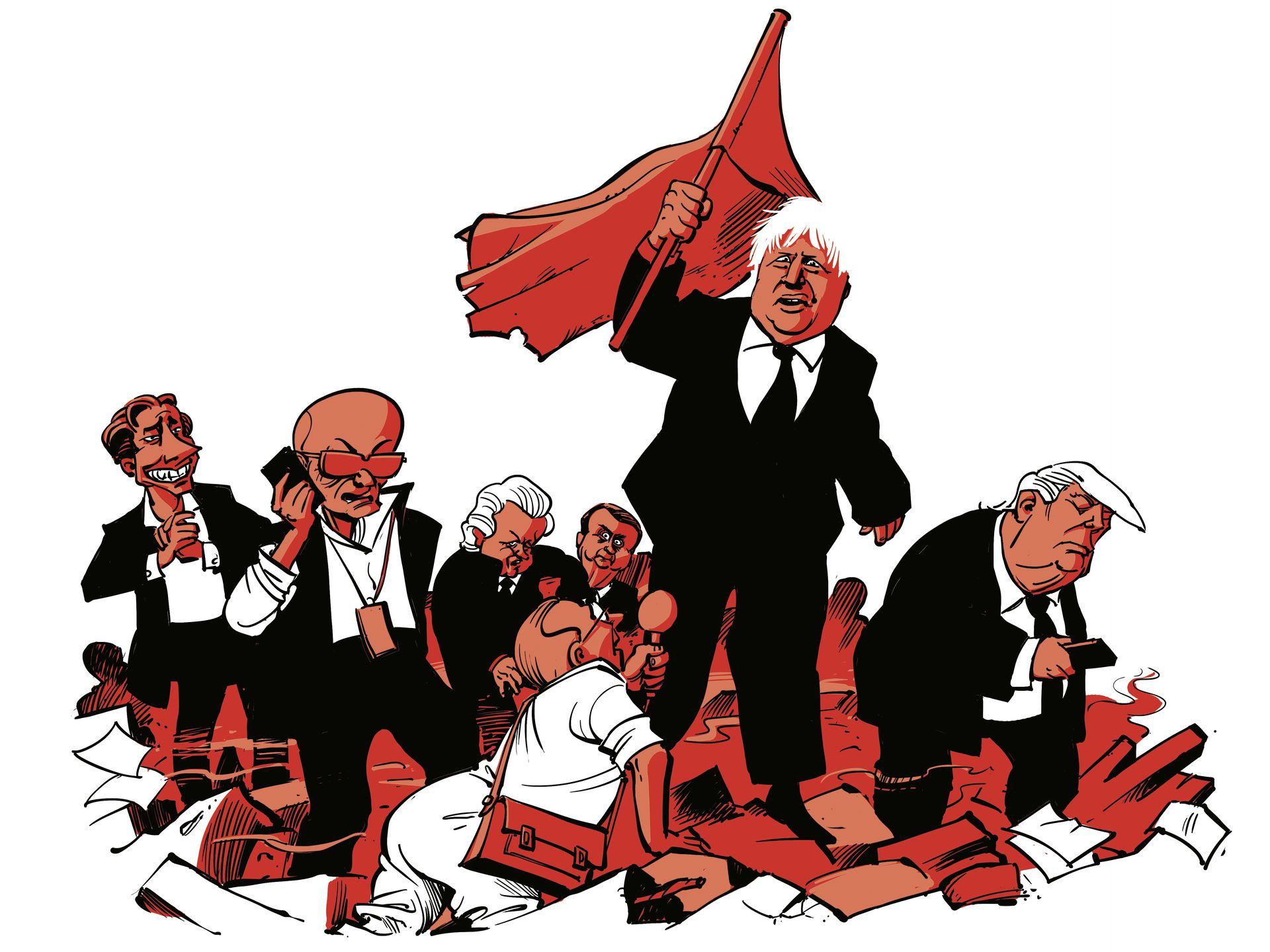 Cartoon populisten